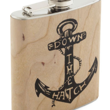 ModCloth Nautical Spirited Cheers Flask