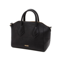 Faux Leather Luxe Handbag