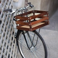 classic handmade wood porter crates for bicycles by onemorebike