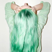 """22"""" Mint Green Clip In Hair Extension"""
