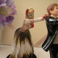 Zombie Chaser Bride by Beeloverly on Etsy
