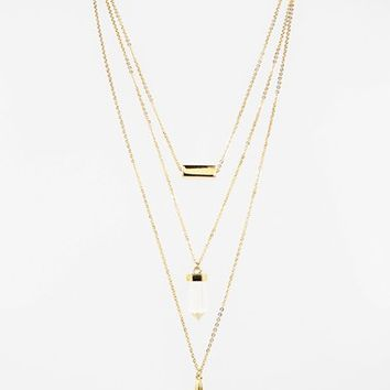 Women's Baublebar 'Wizardry' Layered Pendant Necklace