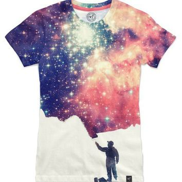 Painting the universe Women's T-Shirts by Philipp Rietz | Nuvango