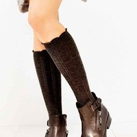 Braided Soft Knee-High Sock-