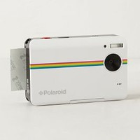 Polaroid Z2300 Instant Digital Camera Kit by Anthropologie White One Size Gifts