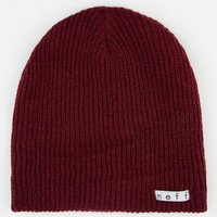 Neff Daily Beanie Maroon One Size For Men 21103032301
