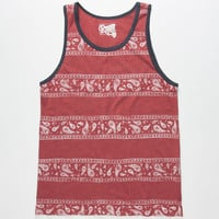 RETROFIT Paisley Mens Tank | Tanks