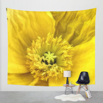 Jaune Wall Tapestry by DuckyB (Brandi)
