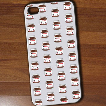 nutella pattern iphone 4/4s/5/5c/5s case, nutella pattern samsung galaxy s3/s4/s5, nutella pattern samsung galaxy s3 mini/s4 mini, nutella pattern samsung galaxy note 2/3
