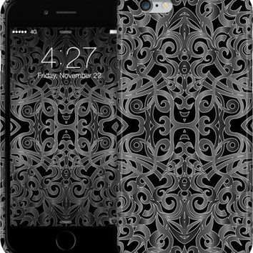 Floral Wrought Iron G20 iPhone Cases & Skins by Medusa GraphicArt | Nuvango