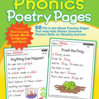 Phonics Poetry Pages - Paperback - The Scholastic Store