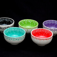 Customised Hand Painted Large Bowls