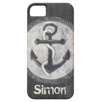 Nautical Best Days Beach Rustic iPhone 5/5S iPhone 5 Covers