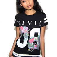 Floral 08 BF Tee