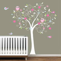 Children Vinyl Wall Decals Nursery Tree Decal with by Modernwalls