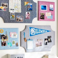 No Nails Fabric Pinboards