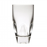 Diamonte Collection Tall Drinking Glass By RCR Italy, Set of 4
