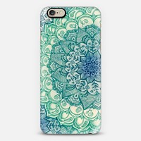 Emerald Doodle iPhone 6 case by Micklyn Le Feuvre   Casetify