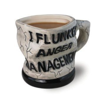 Big Mouth Toys Anger Management Ceramic Mug