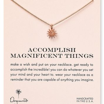 Dogeared Accomplish Magnificent Things Necklace, 18""