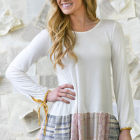 Stephanie Patterned Tunic