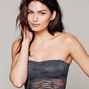 Intimately Free People Womens Cropped Lace Tube