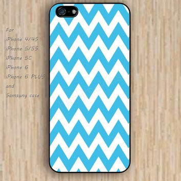 iPhone 6 case dream lighting blue chevron iphone case,ipod case,samsung galaxy case available plastic rubber case waterproof B188