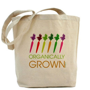 Dancing Carrots Canvas Tote Bag Classic by PamelaFugateDesigns