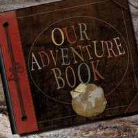 Up Adventure Book Photo Album Scrapbook by AlbumOptions on Etsy