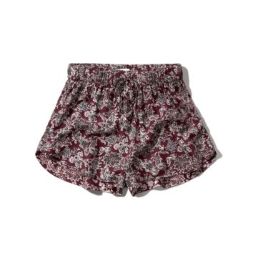 Floral Drapey Shorts