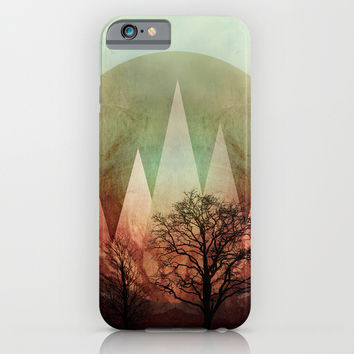TREES under MAGIC MOUNTAINS I iPhone & iPod Case by Pia Schneider [atelier COLOUR-VISION]