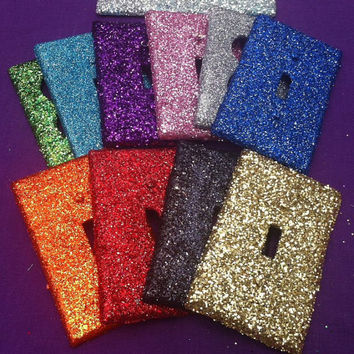 Glitter Switchplate or Outlet Cover
