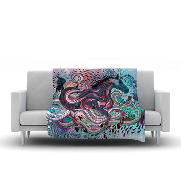 "Mat Miller ""Poetry in Motion"" Fleece Throw Blanket"