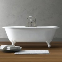 Vintage Imperial Clawfoot Soaking Tub and Tub Fill | Tubs | Restoration Hardware