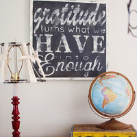 Grateful - Hand Painted Sign - Customizable