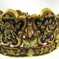 Significant French 19th Century Muses Bracelet