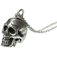 Skull Eyes Necklace