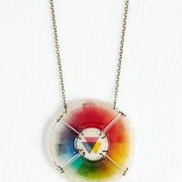 ModCloth Statement Take a Tint Necklace