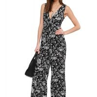 Lush Forever Flowers Jumpsuit