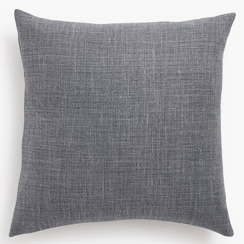 Belgian Linen Pillow Cover - Shale