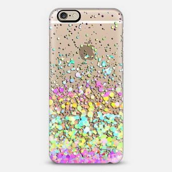 Candy Paint Rain II Transparent iPhone 6 case by Organic Saturation | Casetify