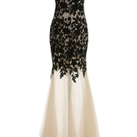 Sunvary 2014 Mermaid Lace Mother of the Bride Dresses Prom Gowns