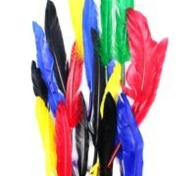 7gr Assorted Colors Craft Feathers
