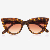 Quay Kitti Shades in Tortoiseshell