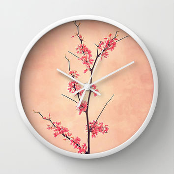 The Passion of Pink Wall Clock by RichCaspian