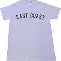 EAST COAST T-shirt Womens Streetwear Cyrus We Can't Stop Tumblr Mellville
