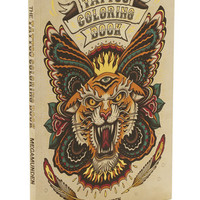 Chronicle Books Rockabilly The Tattoo Coloring Book