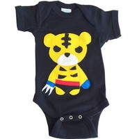 Sharp Tiger Man Bodysuit - Also Available in Toddler Shirt!