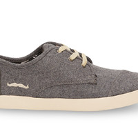 TOMS for Movember Grey Wool Women's Paseos