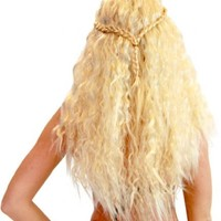 Game of Thrones Khaleesi Daenerys Targaryen Warrior Princess Costume Wig - Game Of Thrones - | TV Store Online